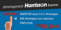 logo Déménagement Harrisson express