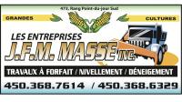 Emplois chez Les Entreprises J.F.M. Masse inc.