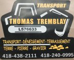 Emplois chez Transport Thomas Tremblay